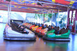 Dodgem cars in a row - 62196151