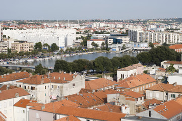 city view of Zadar