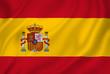 Obrazy na płótnie, fototapety, zdjęcia, fotoobrazy drukowane : Spain flag