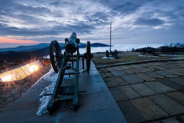 Cannon on Shipka Peak