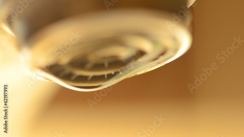 Water   Dripping from the Tap, Macro