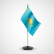 Table flag of Kazakhstan