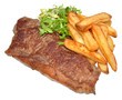 Sirloin Steak And Chips