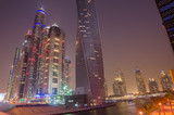 Dubai Marina (United Arab Emirates) at night