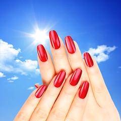 Wunderschöne Fingernägel