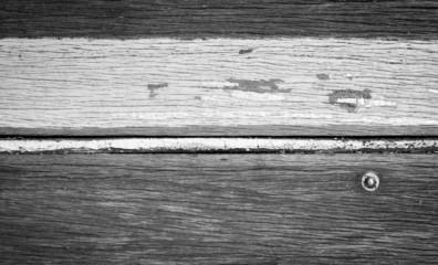Retro Wood Stripe Black and White