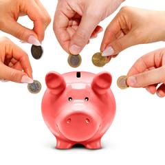 Geld für den Sparschwein