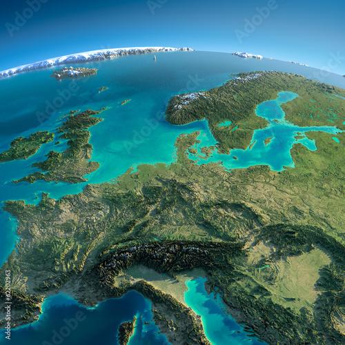 Szczegółowa Ziemia. Europa Środkowa