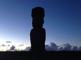 Moai shadow