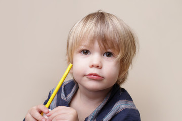 Child with Crayon, Arts