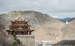 View of Buddhist temple in Shangrila (Zhongdian), China