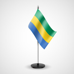 Table flag of Gabon