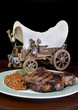 Thick Pork Chops. and Cowboy Wagon.