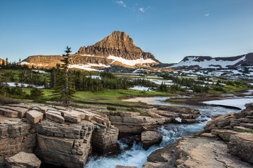 Reynolds Mountain at Logan Pass, Glacier National Park