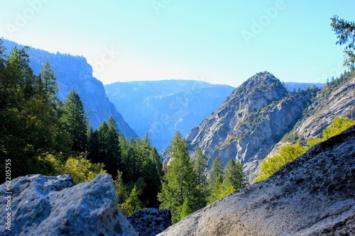 Landscape in Yosemite National Park California USA