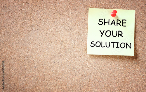 share your solution concept. room for text