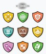 Seo,Website searching badges icons