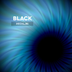 Black hole and wavy rays