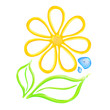 Gel flower icon.
