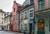 Street in the old town of Riga