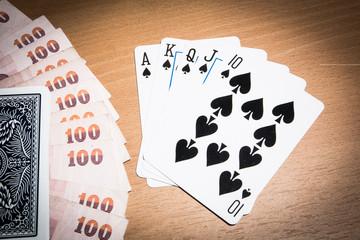 Baht and Poker