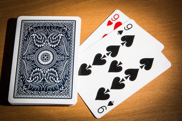 poker double