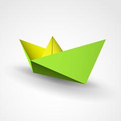 łódka origami