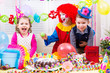 Kindergeburtstag mit Clown
