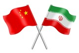 Flags: China and Iran