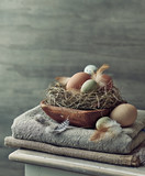 Rustic Easter Decoration