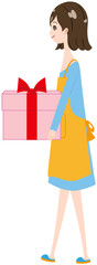 女性 エプロン プレゼント
