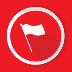 Flag symbol,vector