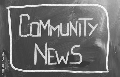 Community News Concept