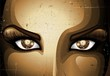 Steampunk Girl Eyes