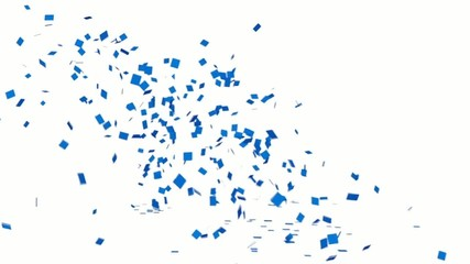 Popping Out Confetti with Alpha