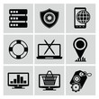 Web design icons,vector