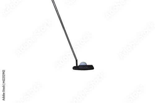 isolated putter