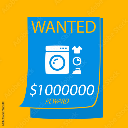 wanted a washing machine