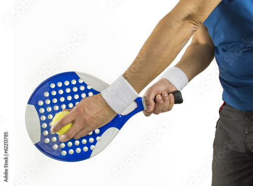 aim for another great shot with paddle racket