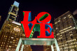 The Love statue in the Love Park Philadelphia - 62214168