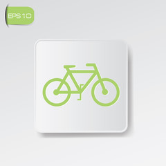 Bicycle sign,vector