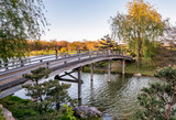 Chicago Botanic Garden, Bridge to Japanese Garden