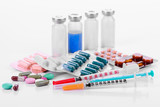 pharmacology tablets vials syringes