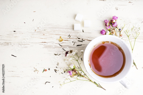 Fotobehang Thee Tea