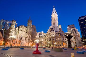 Philadelphia's landmark historic City Hall building