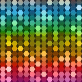 Bright rainbow background vector geometry
