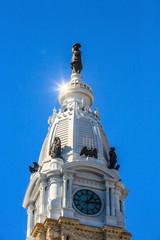 William Penn statue on a top of City Hall