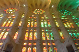 Sagrada Familia indoor, Spain