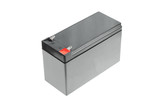 Black rechargeable battery