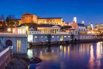 Philadelphia Art Museum and Fairmount Water Works
